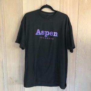 Brandy Melville Aspen Colorado Oversized Shirt